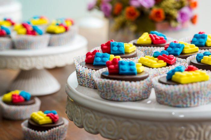 lego cupcakes kinderfeestje