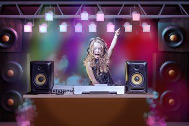 disco kinderfeestje