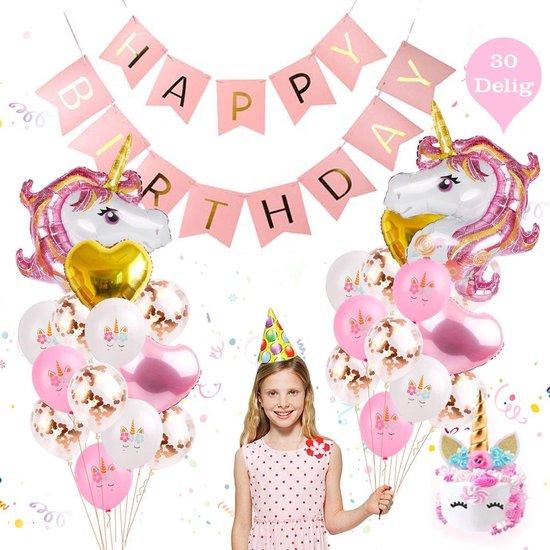unicorn versierpakket kinderfeestje