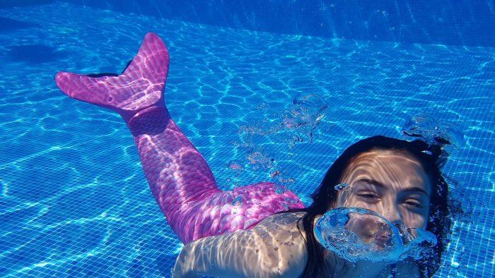 zeemeermin zwemmen kinderfeestje