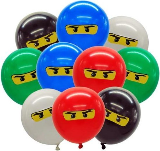 lego ballonnen feestje