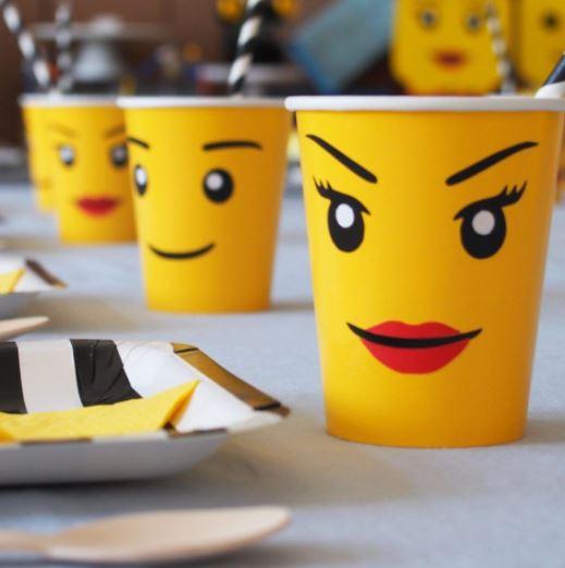 lego drinkbekers kinderfeestje