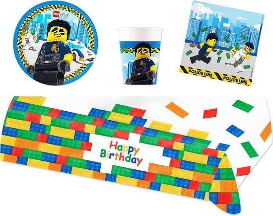 lego versiering kinderfeestje