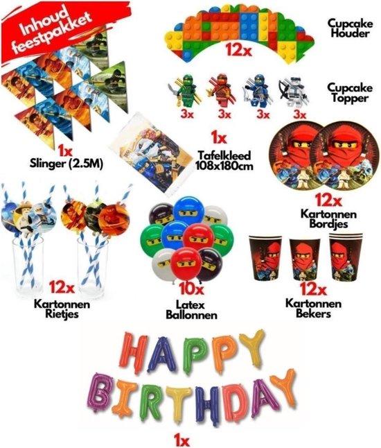 lego versierpakket kinderfeestje