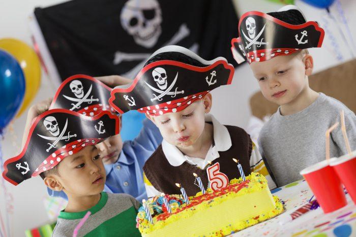 kinderfeestje 5 jaar piraten thema