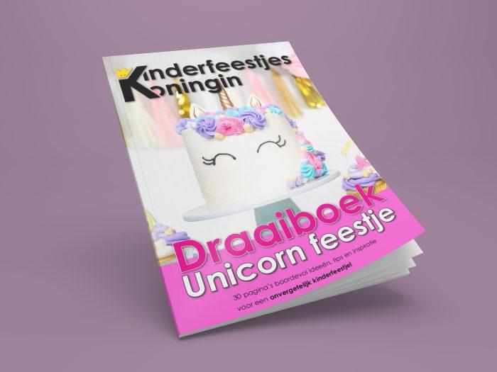 Draaiboek unicorn eenhoorn kinderfeestje