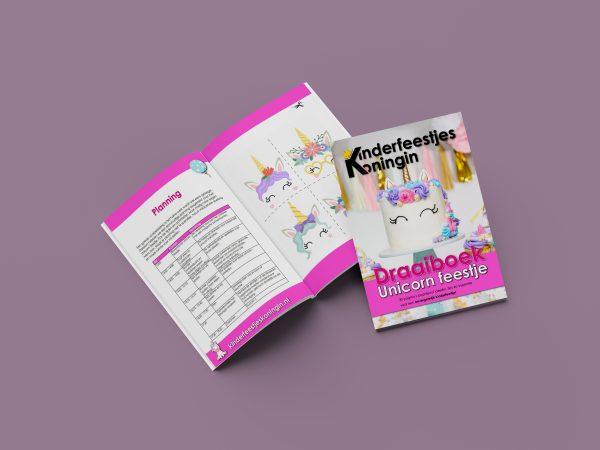draaiboek unicorn eenhoorn kinderfeestje planning knutselen