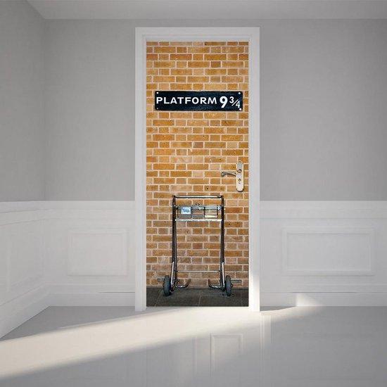 harry potter versiering deur perron 9 3/4