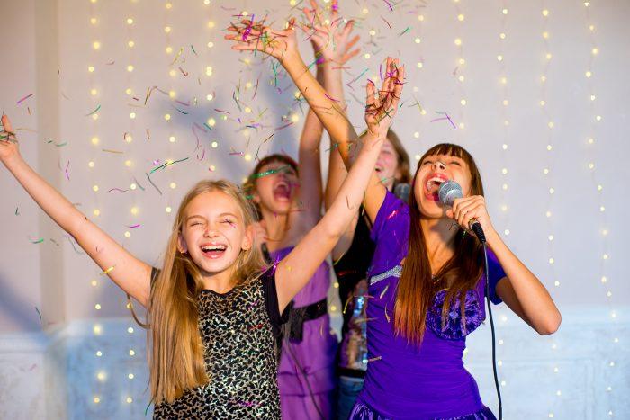kinderfeestje 9 jaar karaoke feest