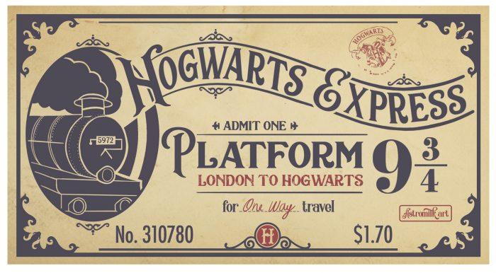 uitnodiging harry potter feestje