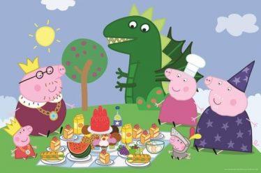 peppa pig verjaardagsfeest